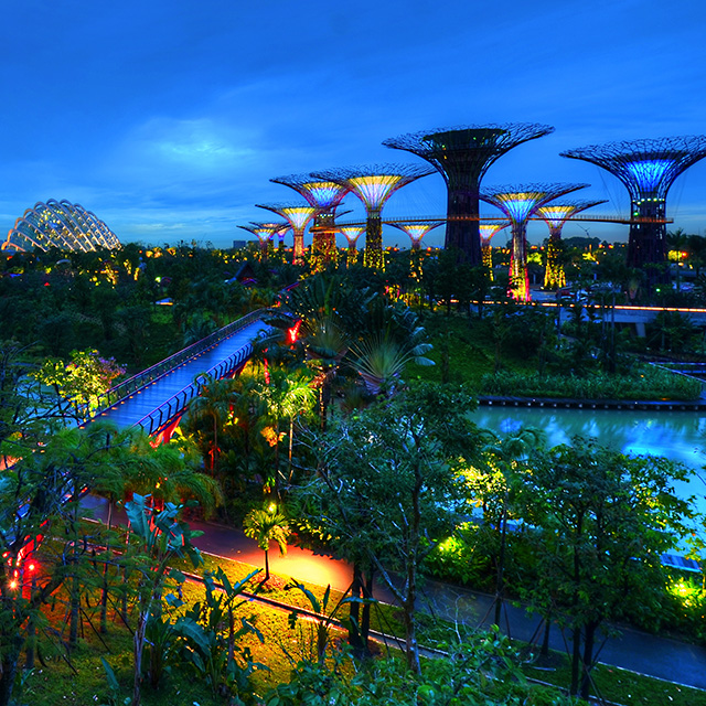 Gardens by the bay yoursingapore - Garden by the bay festival ...