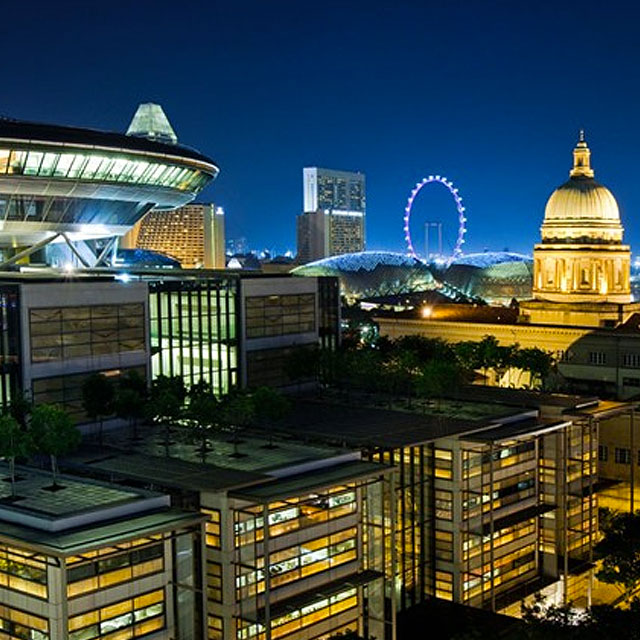 What do you think is interesting about Singapore's architecture?