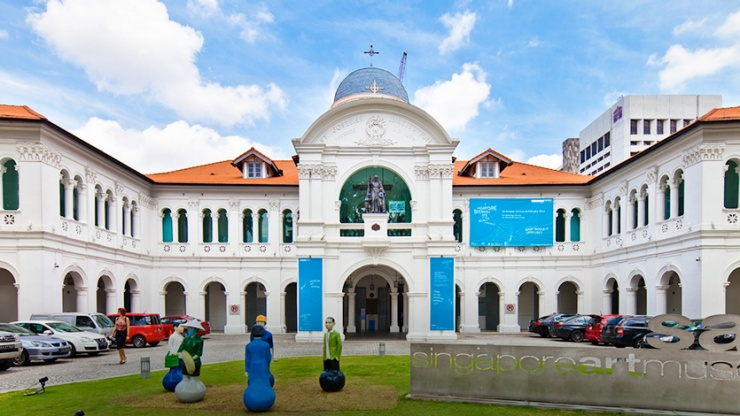 Façade of the Singapore Art Museum