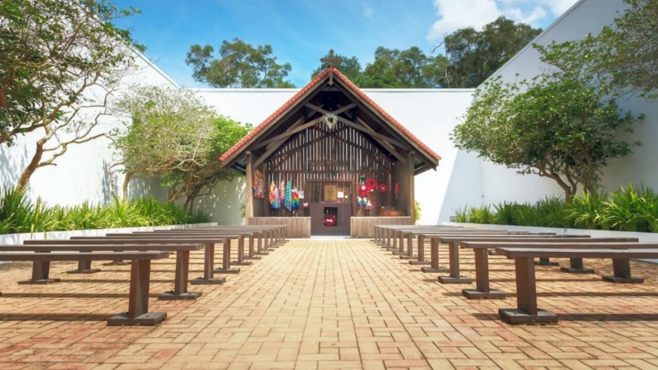 Changi Chapel at Changi Museum