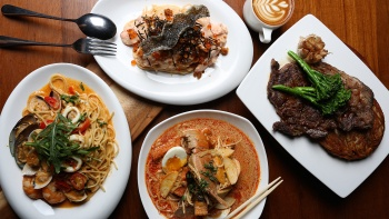 A hearty range of Western delights and local favourites at The Coastal Settlement, a café at Changi