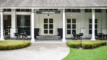 Exterior shot of Candlenut