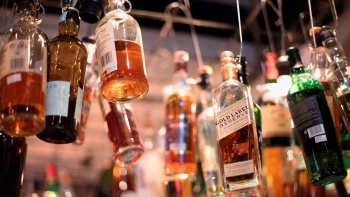 Tippling Club - Hanging Liquor Bottle