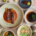 Array of Peranakan dishes at Candlenut