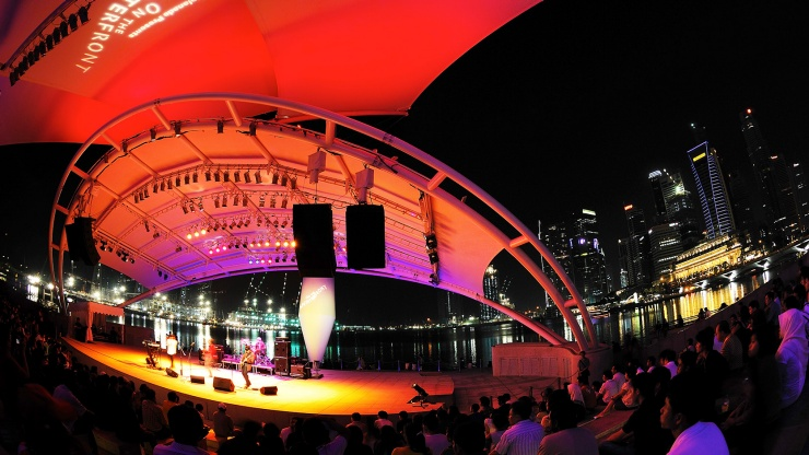 Outdoor Theatre at Esplanade – Theatres on the Bay