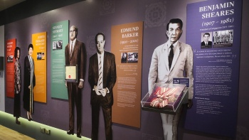 Prominent Eurasians - Exhibit within the Eurasian Heritage Centre, Singapore