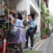 Shoppers along Haji Lane
