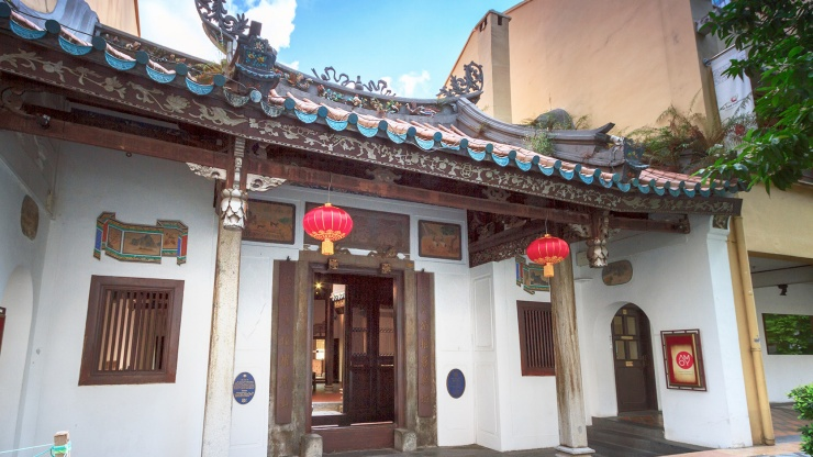 Marvel at the Fuk Tak Chi Museum's carefully restored architecture in the heart of Chinatown.