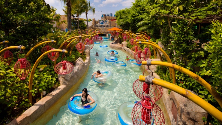 Adventure River at Adventure Cove Waterpark