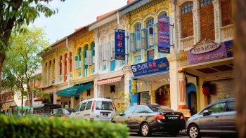 Shophouses at Joo Chiat/Katong area