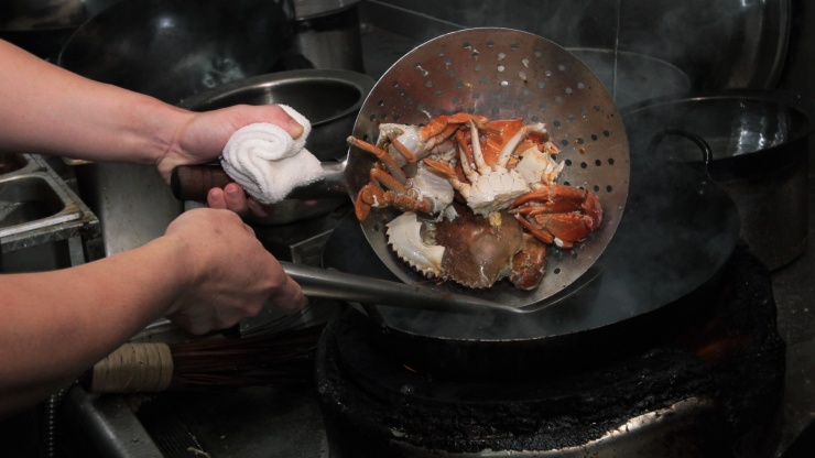 A local favourite, the chilli crab is among Singapore's greatest culinary inventions.