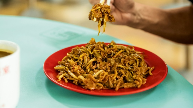 Outram Park Fried Kway Teow (Michelin Bib Gourmand)
