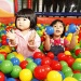 Image of children in ball pit