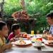 Image of family dining at Singapore Zoo