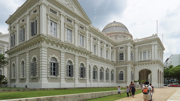 As Singapore's oldest neighbourhood, Bras Basah in Singapore is full of interesting history.