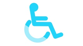 Illustration of handicapped icon