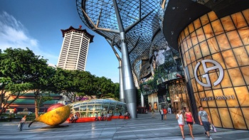 Exterior view of ION Orchard mall