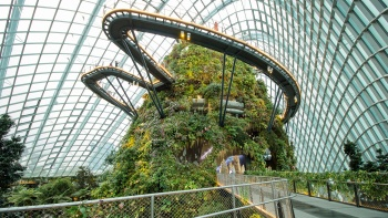 View of Cloud Forest at Gardens By The Bay