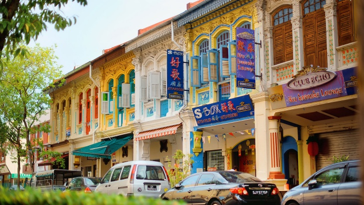 Shophouses at Joo Chiat