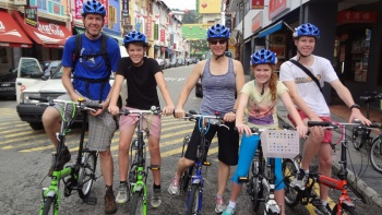 Historical Singapore Bicycle Tour by Let's Go Tour Singapore Pte Ltd