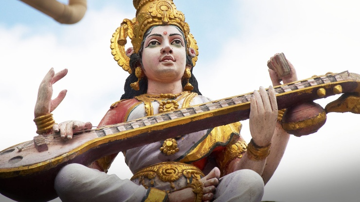 Statue at Sri Veeramakaliamman Temple