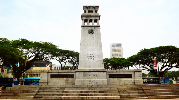 The Cenotaph war memorial