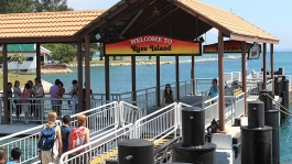 Take a day trip to Kusu Island, Singapore for a dose of fun in the sun.