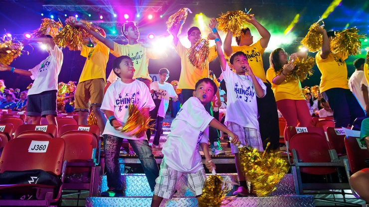 Join people of Singapore from all walks of life in the colourful festivities at the Chingay Parade.