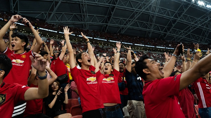 Fans at the National Stadium