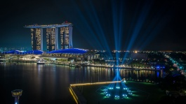 Welcome the new year with spectacular fireworks set against the amazing city skyline at the Marina Bay Singapore Countdown.