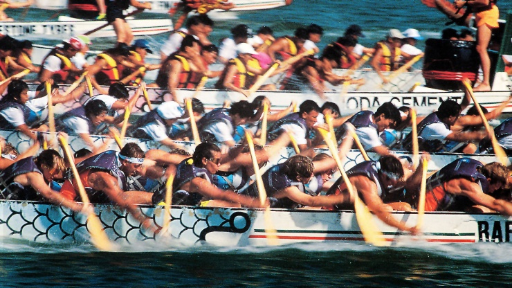 Catch all the action and join the festive atmosphere at the Dragon Boat Festival, Singapore.