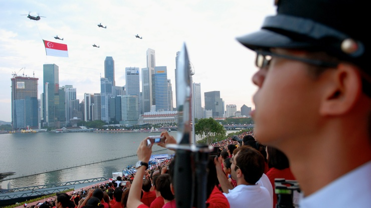 Enjoy stunning aerial high jinks, military parades and multi-cultural performances during National Day, Singapore.