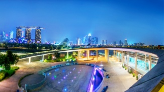Soak in the festive vibe from the Marina Barrage - an amazing vantage point.