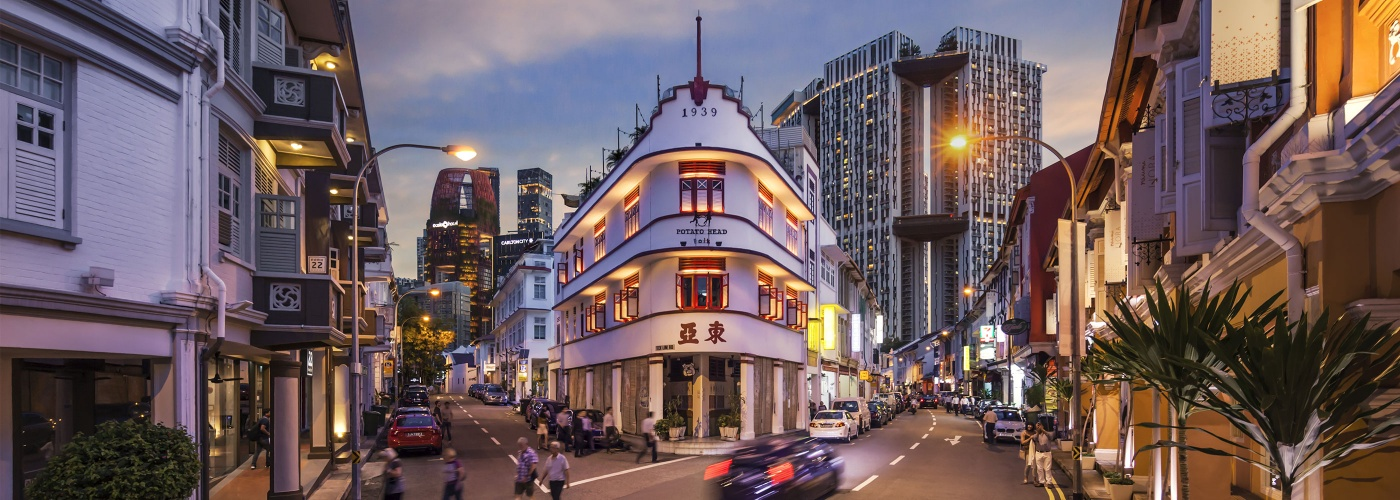 The Keong Saik neighbourhood