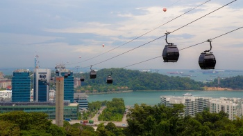 Pemandangan Cable Car Sky Network