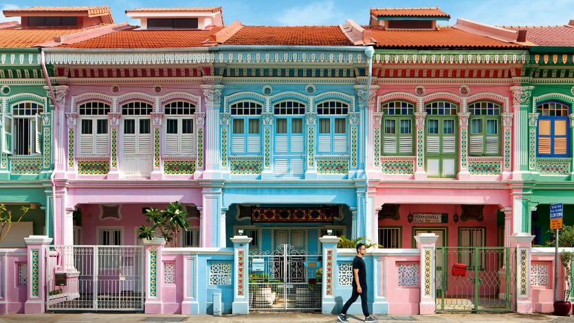 Shophouses found along Joo Chiat