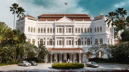 The iconic Raffles Hotel has been home to both tall tales and famous folks.