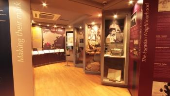 Exhibit within the Eurasian Heritage Centre, Singapore