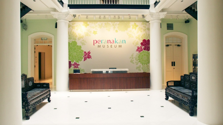 Interior of Peranakan Museum