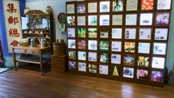 The postage stamps at the Singapore Philatelic Museum features different aspects of history, culture, science and technology.