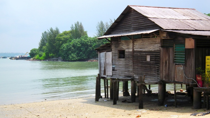 Enjoy a slow pace of life away from the bustle of the city at Pulau Ubin.