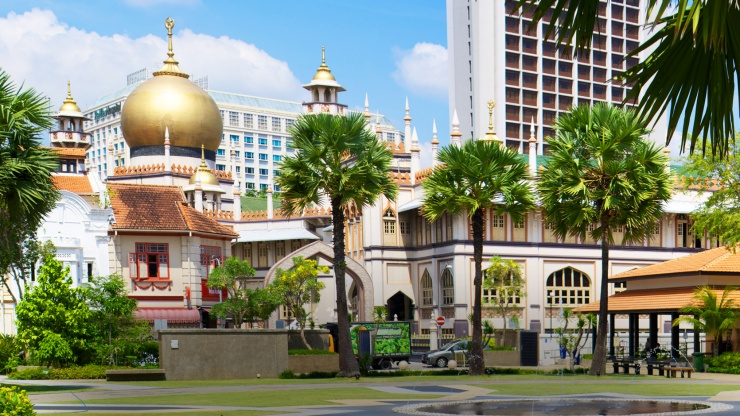 Malay Heritage Centre and Sultan Mosque at Kampong Gelam