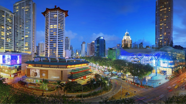 Be sure to check out Asia's most famous street for retail therapy, Orchard Road.