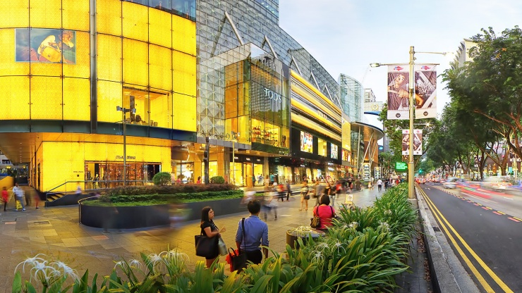 Explore lifestyle and entertainment options to suit every taste on Orchard Road.
