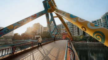 Singapore River from Robertson Quay