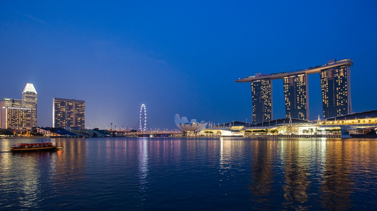 A night skyline like no other—enjoy some of the best views and cityscapes when you visit Singapore.
