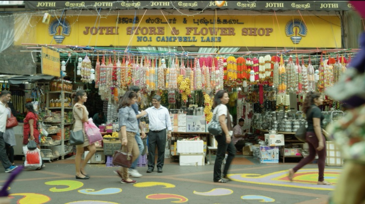 Jothi Store and Flower Shop in Little India