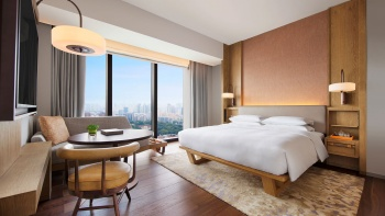 Andaz Hotel Luxurious King Bed View room